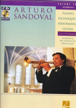 SANDOVAL PLAYING TECHNIQUES AND PERFORMANCE STUDIES VOLUME 2 INTERME