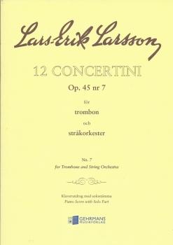 12 Concertini for Trombone - Lars-Erik larsson