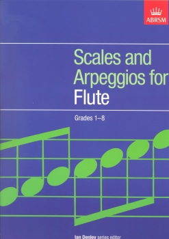 ABRSM SCALES AND ARPEGGIOS FOR FLUTE GRADES 1-8 FLT
