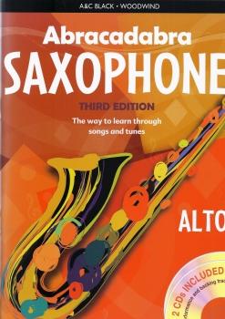 Abracadabra Saxophone - Third Edition (Book/CD)