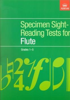 ABRSM SPECIMEN SIGHT-READING TESTS FOR FLUTE GRADES 1-5 FLT