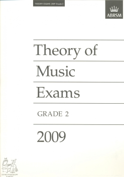 ABRSM THEORY OF MUSIC EXAM 2009 GR 2