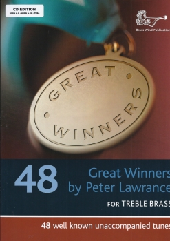 PETER LAWRENCE GREAT WINNERS FOR HORN/TUBA (BOOK AND CD) HN BOOK/CD