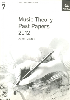 ABRSM Theory Of Music Exams 2012: Test Paper - Grade 7