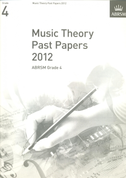 ABRSM Theory Of Music Exams 2012: Test Paper - Grade 4