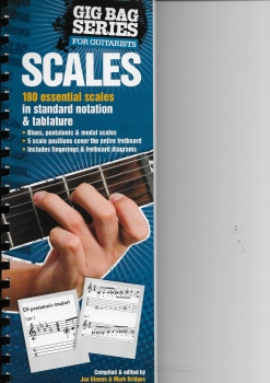 The Gig Bag Of Scales for all Guitarists
