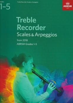 ABRSM: Descant Recorder Scales & Arpeggios, ABRSM Grades 1–5