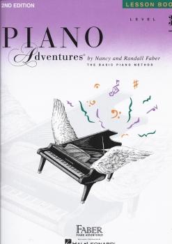 Faber Piano Adventures: Level 3B - Lesson Book