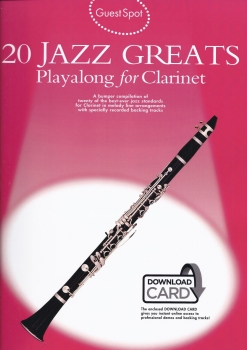 20 Jazz Greats Playalong for Clarinet
