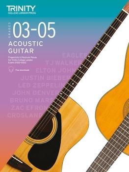 Acoustic Guitar Exam Pieces 2020-2023 Grades 3-5