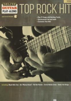 Deluxe Guitar Play-Along: Top Rock Hits