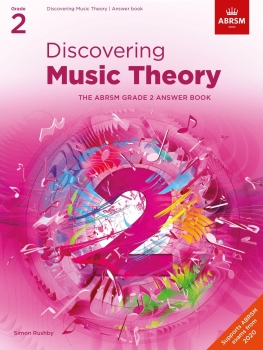 Discovering Music Theory - Grade 2 Answers