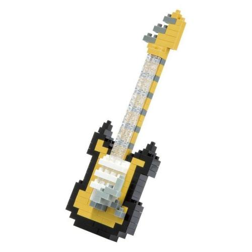 Nanoblock Electric Guitar Black And Yellow