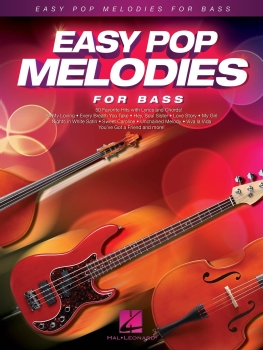 Easy Pop Melodies - for Double Bass