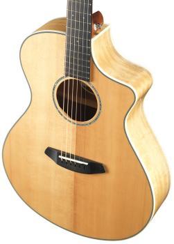 Breedlove Exotic Pursuit Concert Sitka Spruce/Myrtlewood Guitar