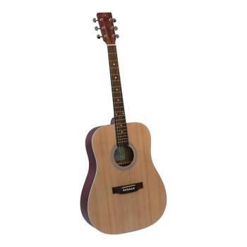 SX Acoustic Guitar D Model Matt Finish. Natural SD204NA