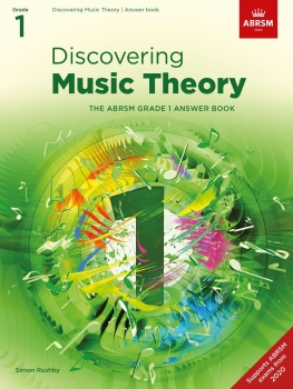 Discovering Music Theory - Grade 1 Answers