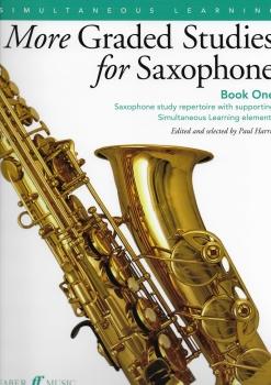 Paul Harris: More Graded Studies For Saxophone - Book 1 (Instrumental Solo)