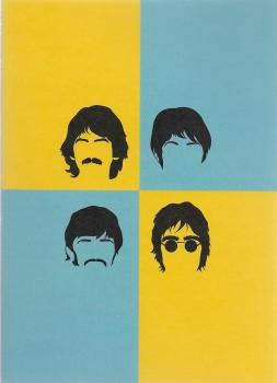 Pop Art: The Beatles - Greeting Card