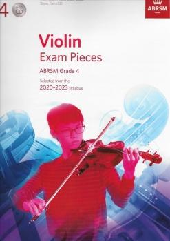 ABRSM Violin Exam Pieces Grade 4 2020-2023