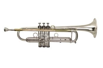P Mauriat Pmt-75 Bb Trumpet - Titanium Lead Pipe - Silver