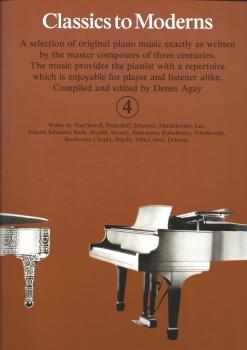 Classics To Moderns - Book 4