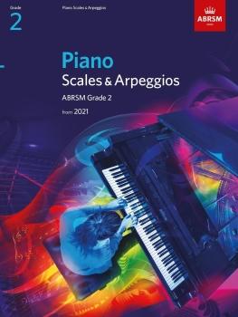 Piano Scales & Arpeggios from 2021 - Grade 2