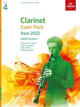 Clarinet Exam Pack 2022-2025 Grade 4