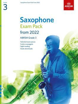 Saxophone Exam Pack 2022-2025 Grade 3