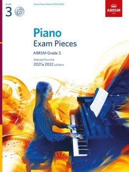 Piano Exam Pieces 2021 & 2022 - Grade 3 + CD