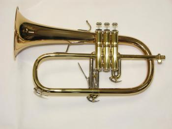 Vincent Bach 183 Stradivarius Flugel in Lacquer, Gold Brass Bell