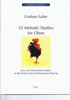 35 Melodic Studies for Oboe (Salter)