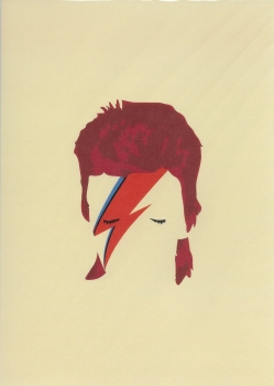 Pop Art: Bowie - Greeting Card
