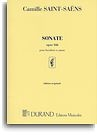 CAMILLE SAINT-SAENS SONATE OP.166 (OBOE AND PIANO)