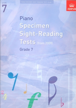 ABRSM Piano Specimen Sight Reading Tests - Grade 7