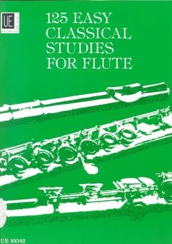 Frans Vester: 125 Easy Classical Studies For Flute