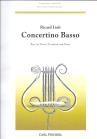 Concertino Basso for Bass Trombone - Richard Lieb