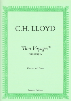 Bon Voyage for Clarinet and Piano arr CH Lloyd