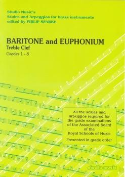Philip Sparke: Scales And Arpeggios For Baritone/Euphonium (Treble Clef)