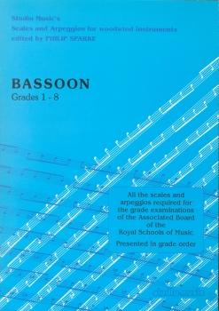 Bassoon Grades 1-8 Scales & Arpeggios