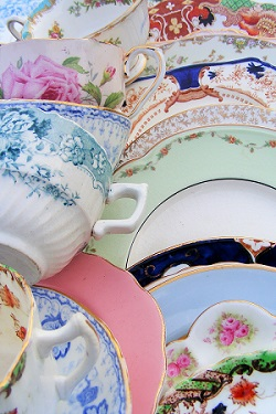 A selection of our fine crockery
