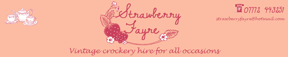 Strawberry Fayre, site logo.