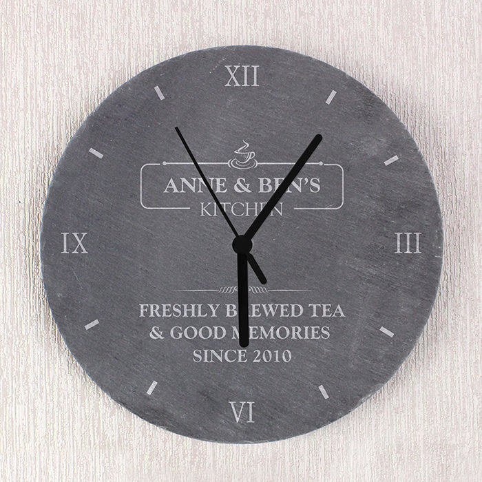 Kitchen Slate Clock