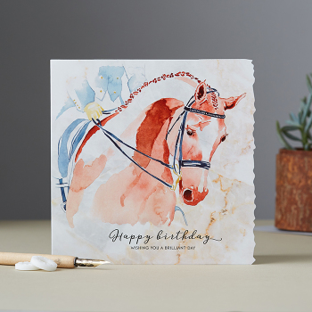 Happy birthday – Wishing You A Brilliant Day Card