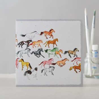 Galloping Herd Card