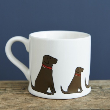 Chocolate Labrador Mug.