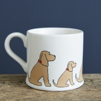 Golden Cocker Spaniel Mug.