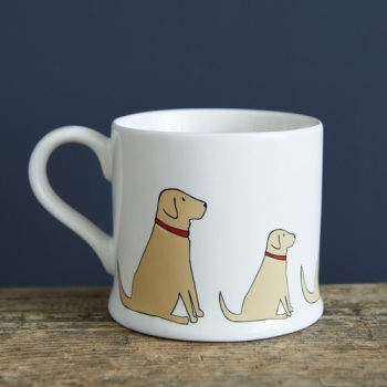 Yellow Labrador Mug.