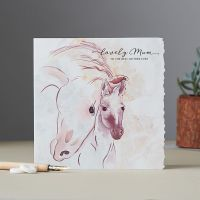 Lovely Mum Horse Card