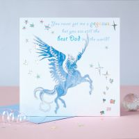 Pegasus Best Dad Card